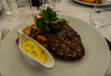 Rib eye steak | Marco Pierre White celebrates 25 years of White Heat with the updated edition | We headed to MPW Newcastle to meet the celebrity chef himself | Elle Blonde Luxury Lifestyle Destination Blog